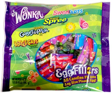 Wonka Assorted Candy Easter Egg Fillers 18oz.