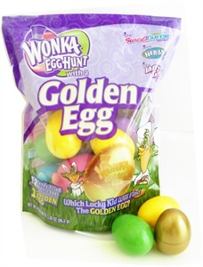 Wonka Egg Hunt with Golden Egg