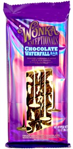 Wonka Exceptionals Chocolate Waterfall Bars 12ct. (DISCONTINUED)