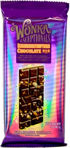 Wonka Exceptionals Scrumdiddlyumptious Chocolate Bars 12ct. (DISCONTINUED)