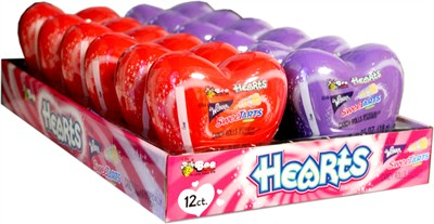 Wonka Sweetarts Candy Rolls Hearts 12ct.