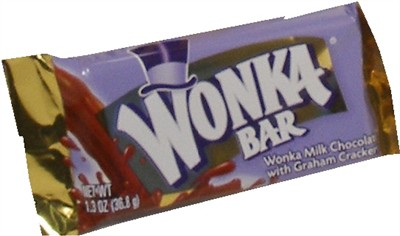 Wonka Bar Small 1.3oz (discontinued)