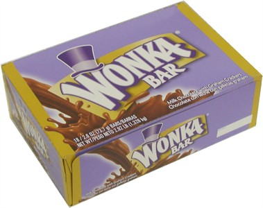 Wonka Bars Large 18ct (DISCONTINUED)