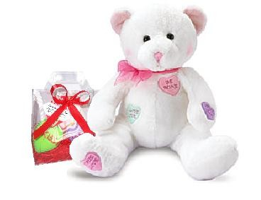 Cookie Tote Conversation Heart Bear (Sold Out)