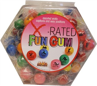 X-Rated Gum 144pc (DISCONTINUED)