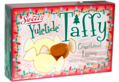 Yuletide Gingerbread Eggnog Taffy Theater Box 3oz. (discontinued)
