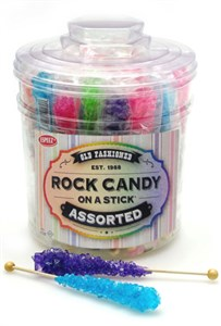 <strong>Rock Candy Crystal Sticks Tub 36ct. &#9658;</strong>