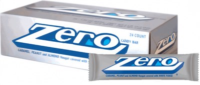 Zero Candy Bars - 24ct.