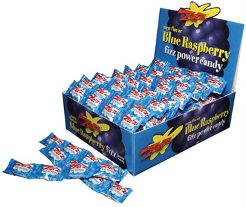 Zotz Blue Raspberry Fizz Power Candy 48ct.