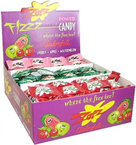 Zotz Fizz Sours - Cherry, Apple, Watermelon - 48ct