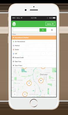 dispensary finder mobile