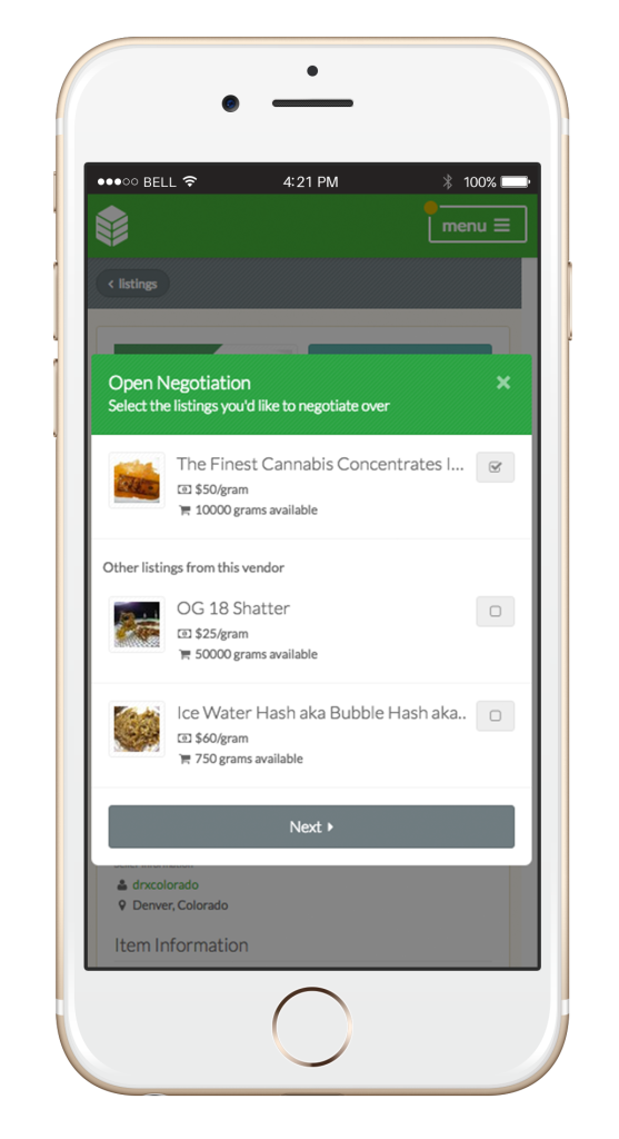 open negotiation romit mobile