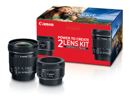 Canon Portrait & Travel - 2 Lens Kit on Sale!