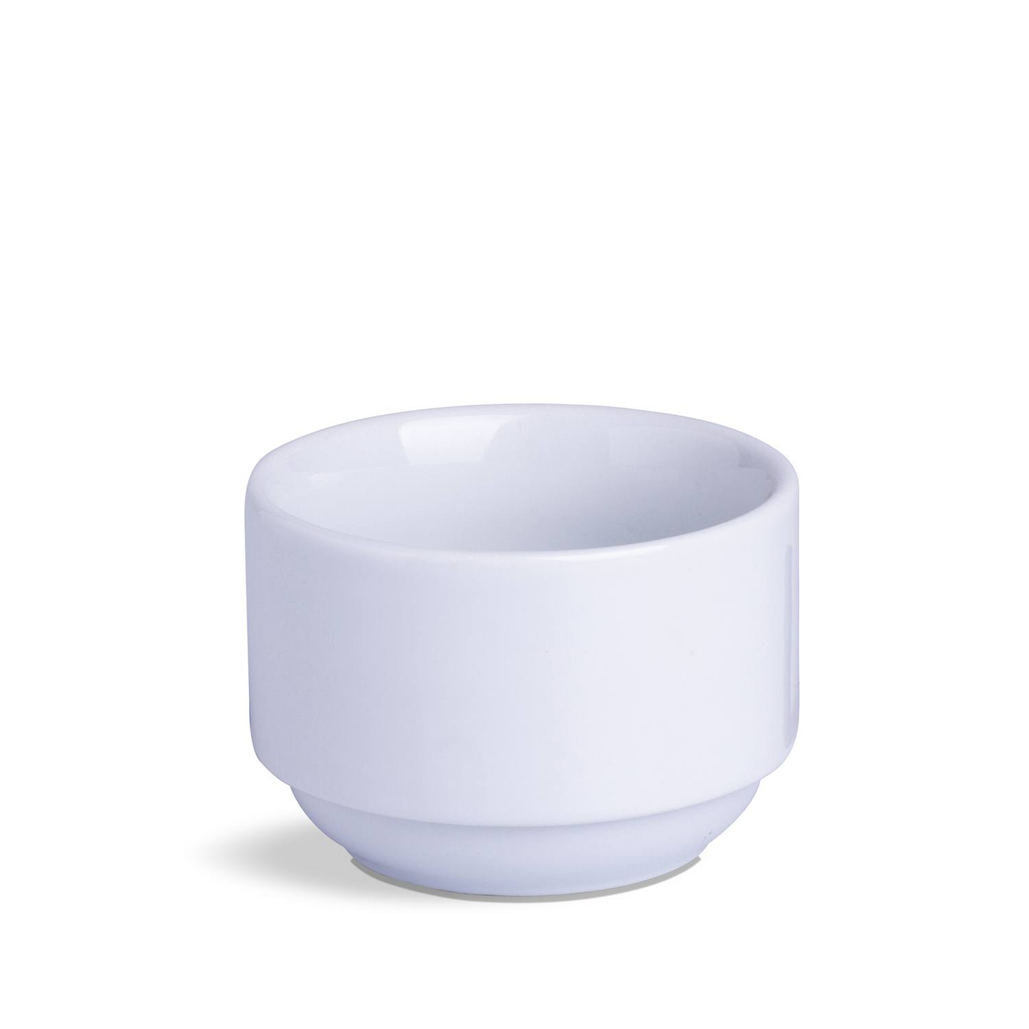 Bowl Cilíndrico Branco Porcelana 250 mL 10 x 10 x 7 cm