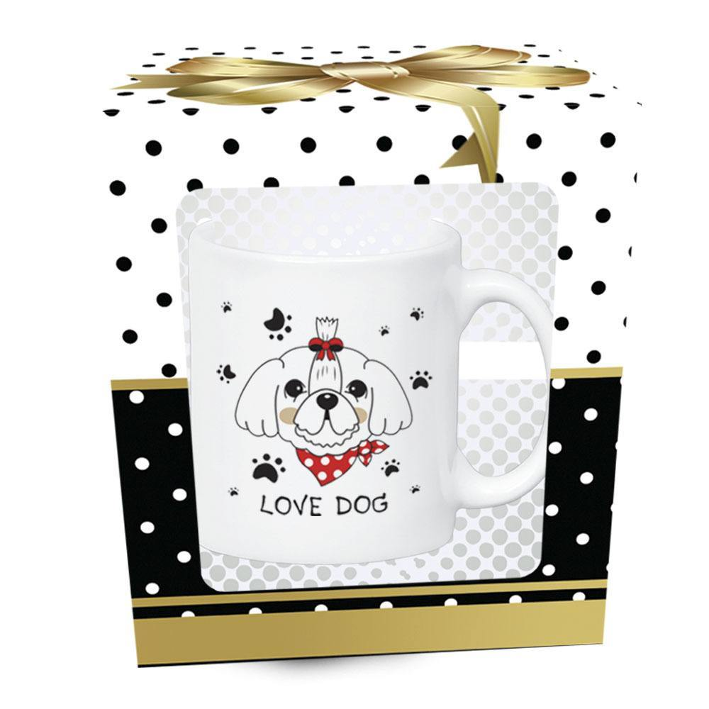 Caneca Pet Love Dogs