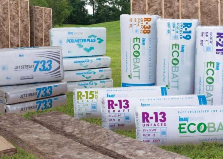 R19 6 in x 24 in x 48 in Knauf Unfaced Insulation at Capitol