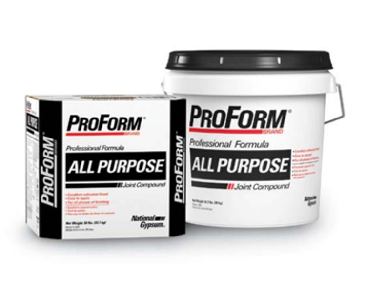 National Gypsum Proform Brand All Purpose Joint Compound