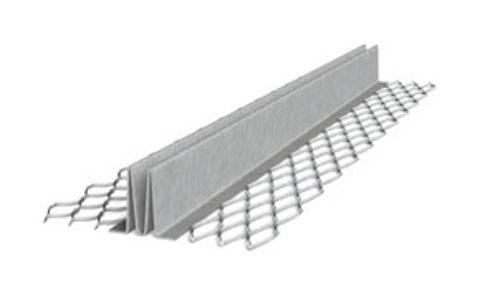 3/4 in x 10 ft Galvanized #15 Double V Expansion Joint