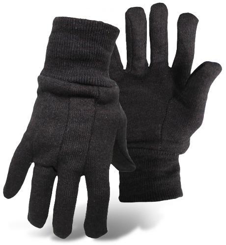 Boss Cotton Work Gloves - Brown