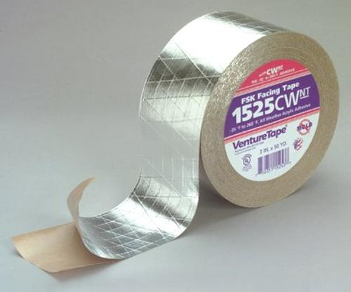 3 in x 150 ft 3M Venture Tape FSK Facing Tape 1525CW