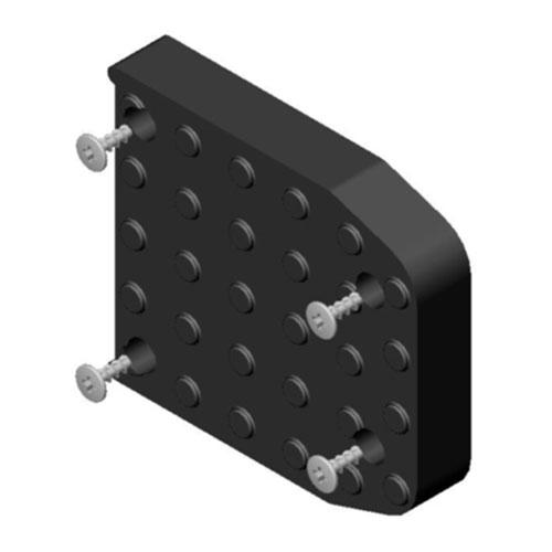 Dura-Stilts Replacement Sole w/ Screws for Nylon Plate