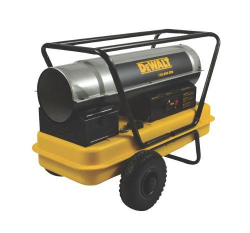 DeWALT 135,000 BTU/HR Forced Air Kerosene Heater