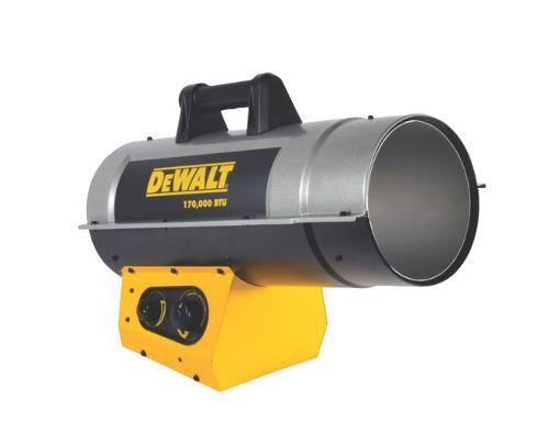 DeWALT 170,000 BTU/HR Forced Air Propane Heater