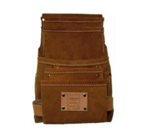 """Heritage Leather Split Leather """"SIDEKICK-5"""" Nail Bag"""