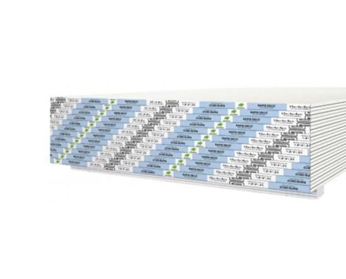 5/8 in x 4 ft x 10 ft Continental Rapid Deco Level 5 Gypsum Board