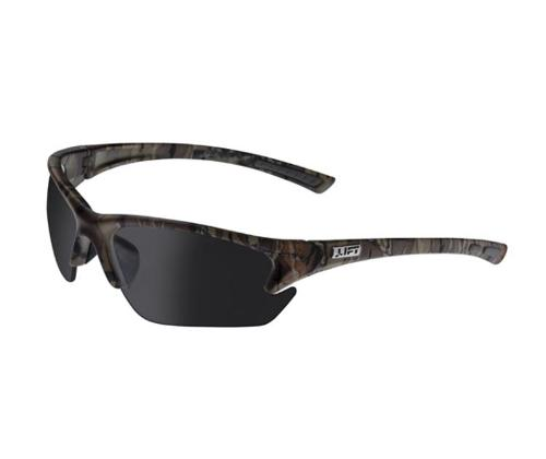 LIFT Safety Pro Series Quest Safety Glasses - Camo Frame/Smoke Lens