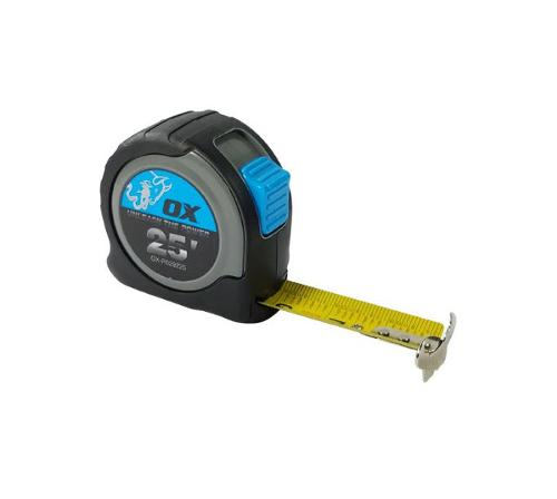 25 ft OX Tools Pro Tape Measure