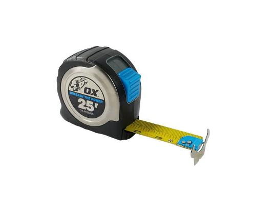 25 ft OX Tools Pro Stainless Steel Tape Measure