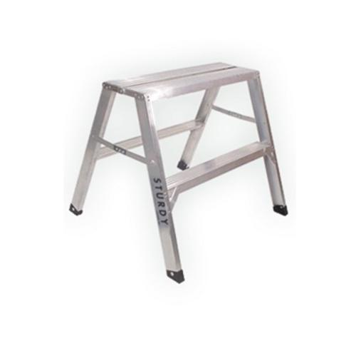 2 ft x 30 in Sturdy Ladder 140 Series Aluminum Flat-Top Sawhorse