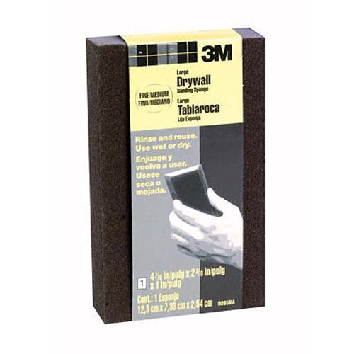2 in x 3 in 3M Drywall Sanding Sponge - Fine/Medium