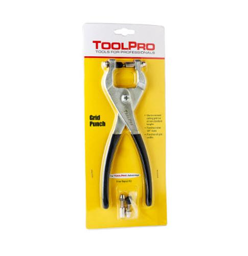 ToolPro Grid Punch Pliers - 1/8 in Rivets