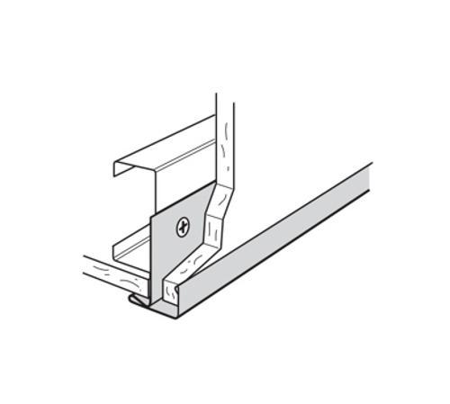 1/2 in x 10 ft USG F-Molding - MF8-050