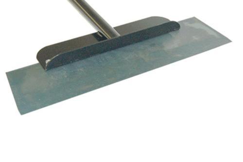 22 in Advance Equipment Floor Scraper w/ Metal Handle