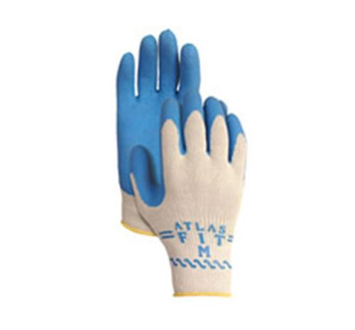 Atlas Glove w/ Blue Rubber Palm - Large