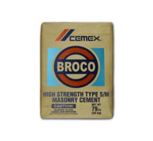 Cemex Broco High Strength Masonry Cement - 79 lb