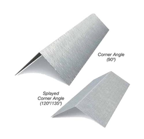 3/4 in x 1 3/4 in x 10 ft x 16 Gauge 54 mil G90 Corner Angle - 120 Degree