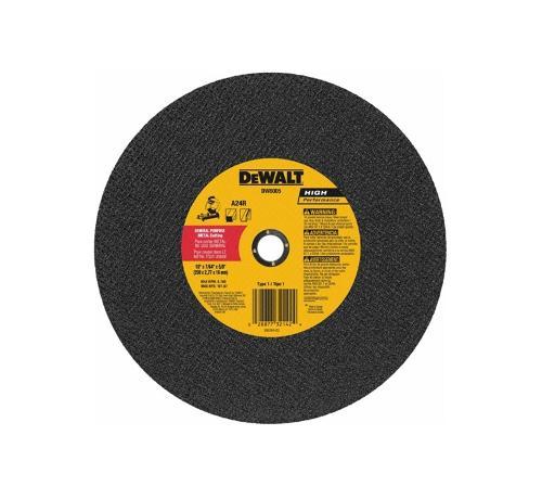 14 in DeWALT A24T Type 1 Metal Cutting Chop Saw Wheel