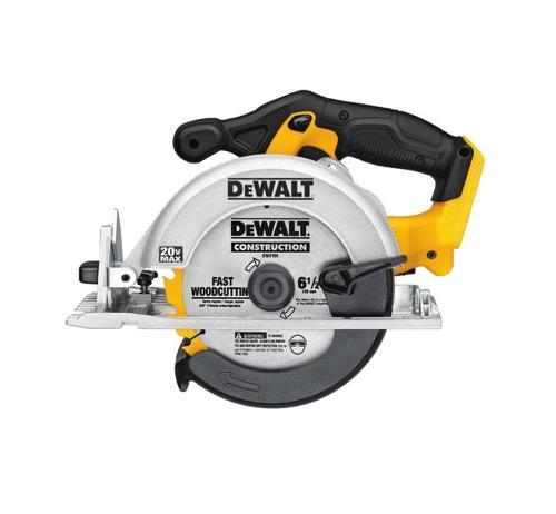 6 1/2 in DeWALT 20V MAX* Circular Saw (Tool Only)