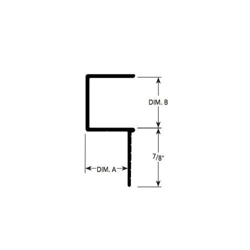 5/8 in x 3/8 in x 10 ft Fry Reglet F Reveal Molding