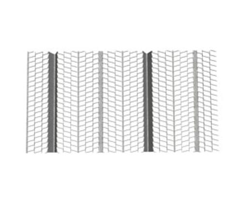 3/8 in Galvanized High Rib Lath - 3.4 lb