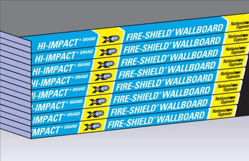 5/8 in x 4 ft x 12 ft National Gypsum Gold Bond BRAND Hi-Impact XP Gypsum Board