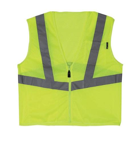Lift Safety Viz Pro 1 Yellow Safety Vest - Large