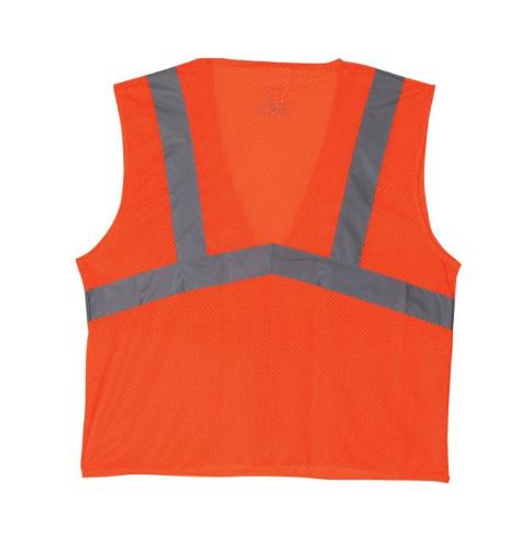 Lift Safety Viz Pro Orange Safety Vest - Large