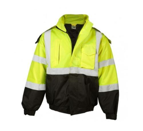 ML Kishigo Hi-Viz Lime Economy Bomber Jacket - XL
