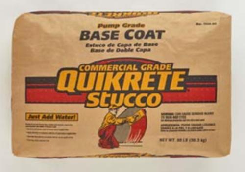QUIKRETE Base Coat Stucco Pump Grade - 80 lb