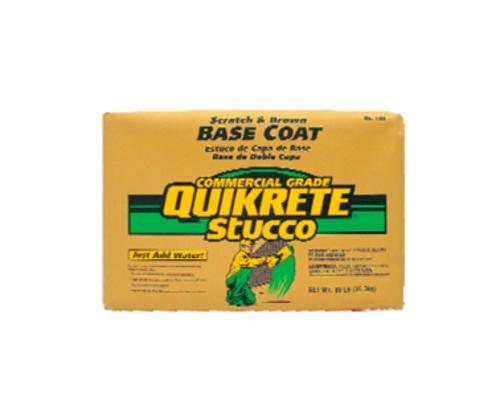 QUIKRETE Scratch and Brown Base Coat Pump Grade Stucco - 3000 lb